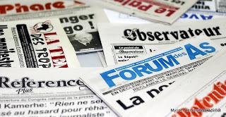 Les quotidiens et journaux de la presse kinoise.