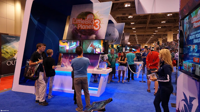Little Big Planet 3 booth at Fanexpo 2014 in Toronto, Ontario, Canada
