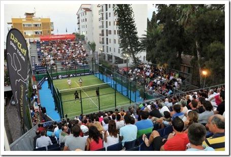 Castellón: Doce años apoyando el mejor pádel del mundo, Bwin PPT Benicassim 2011.