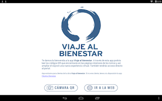 Screenshot of Viaje al Bienestar