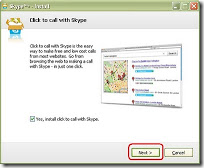 kotak dialog skype software