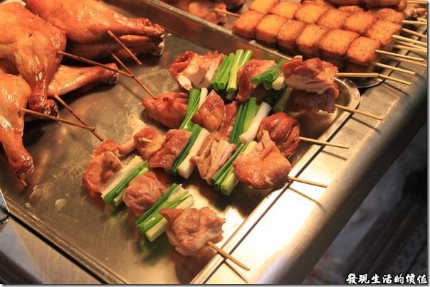 台南,上好烤魯味(滷味),這雞腿肉沒有事先滷過,個人吃起來感覺SoSo。