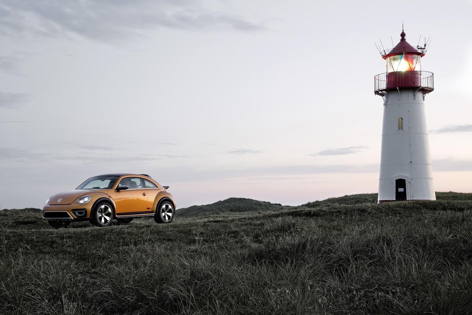 Предсерийный прототип VW Beetle Dune