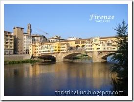 【Italy♦義大利】Florence 佛羅倫斯 - 花一般的城市: 中央市場, Nerbone牛雜包, 聖羅倫佐教堂, 百花大教堂&鐘樓&洗禮堂, Vivoli冰淇淋, 老橋