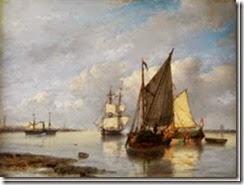 schotel_petrus_johannes-segelschiffe_und_dampfer_in_einer_buc~OMe77300~10303_20090918_78-186_487_thumb