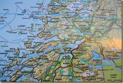 Nesna Map