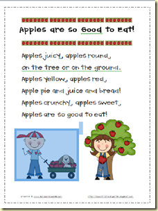 Apples are so good to eat