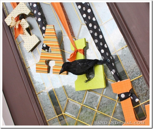 DIY Wreath - Fall Door Decor