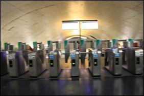 地鐵入閘機