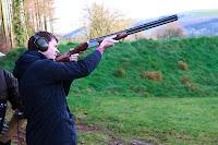 Skeet shooting John