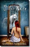 silver white cover