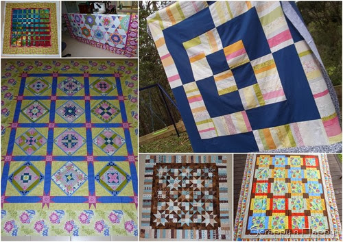 2014 unfinished quilt tops