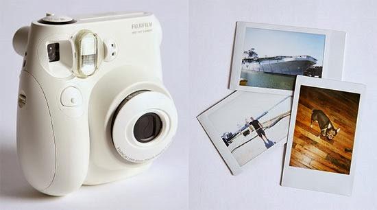 câmera fotográfica que imprime as fotos na hora da luiza na novela em família