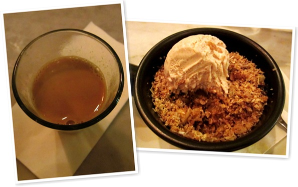 View House Chai, Pineapple and Black Pepper Crumble
