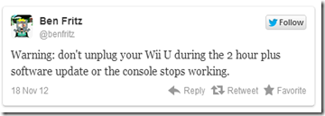 Nintendo Brick Tweet