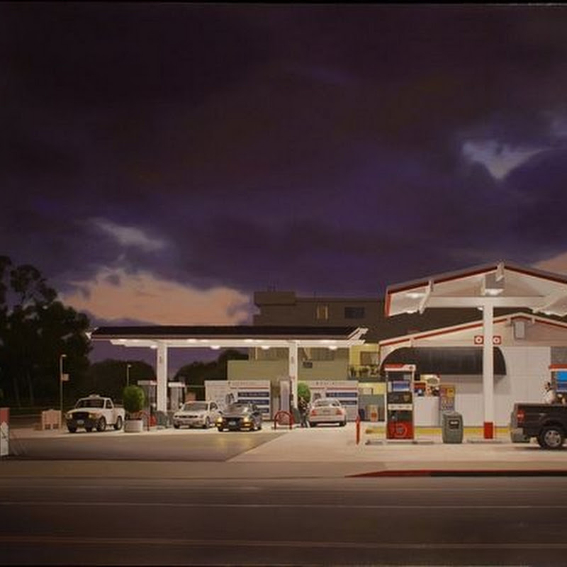 Urban Landscape Paintings by Marc Trujillo