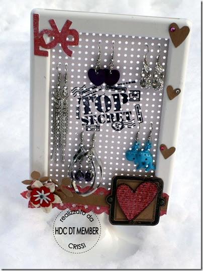 Hobby di carta il blog altered porta orecchini ikea - Porta orecchini ikea ...