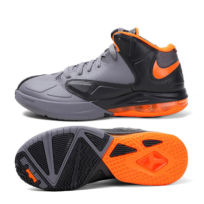 nike air max ambassador 5 gr black grey orange 1 06 Nike Drops Matching Lava Colorway for Air Max Ambassador V