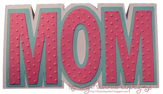 Mom card - Solhouette Cameo