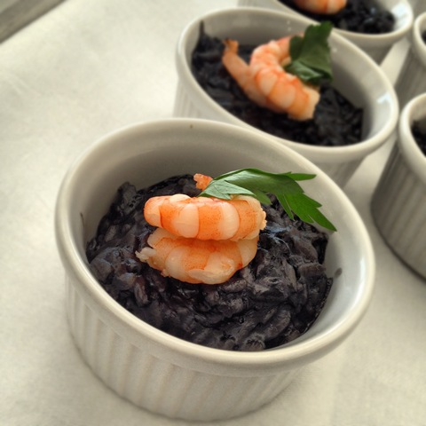 #266 - black squid ink risotto