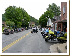 Marlinton WV-Motorbike Rally