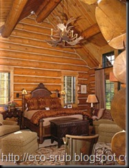 Интерьер деревянных домов