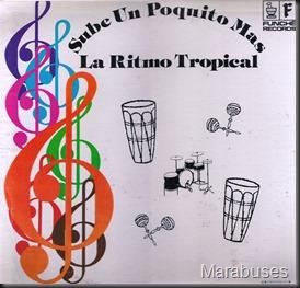 La Ritmo Tropical - Sube Un Poquito Mas (LP Front)