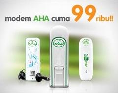 Modem AHA - Modem CDMA harga murah