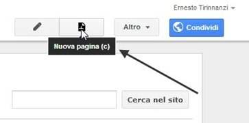 nuova-pagina-google-sites