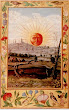 Sun Rising Over The City From Splendor Solis