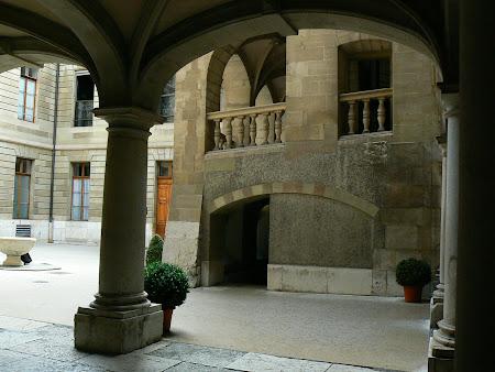 Centrul vechi din Geneva