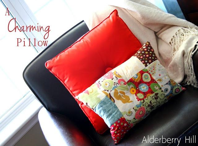37 a charming pillow