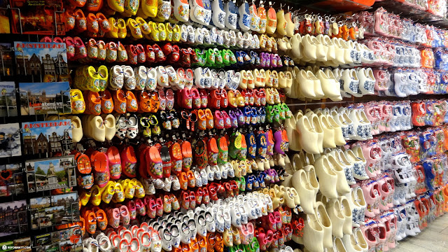 clogs - just in case you forgot in Amsterdam, Noord Holland, Netherlands