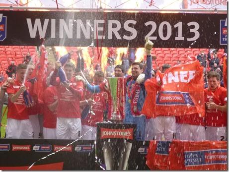 Johnstone's Paint Trophy Final (Sun 7-4-13) - Champions (2)