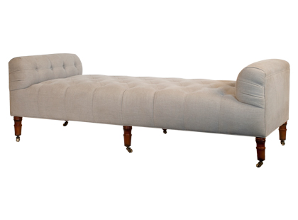 This bench is such a practical and versatile piece. It would be fabulous in a bedroom, living room, or even front hall.