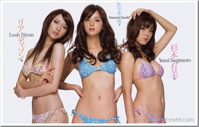 Japan Models Hot Bikini || gudangcewek.com