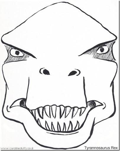 Antifaz de dinosaurios - Imagui