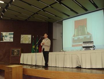 Palestra realizada no Simpósio de Administração da UFCG.