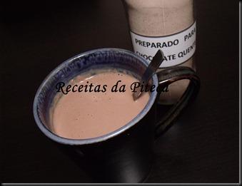Preparado para chocolate quente