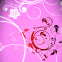 Pink Flowers Bloom Wallpaper icon