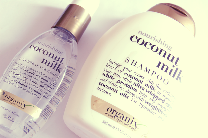 Organix Coconut Milk Serum Shampoo