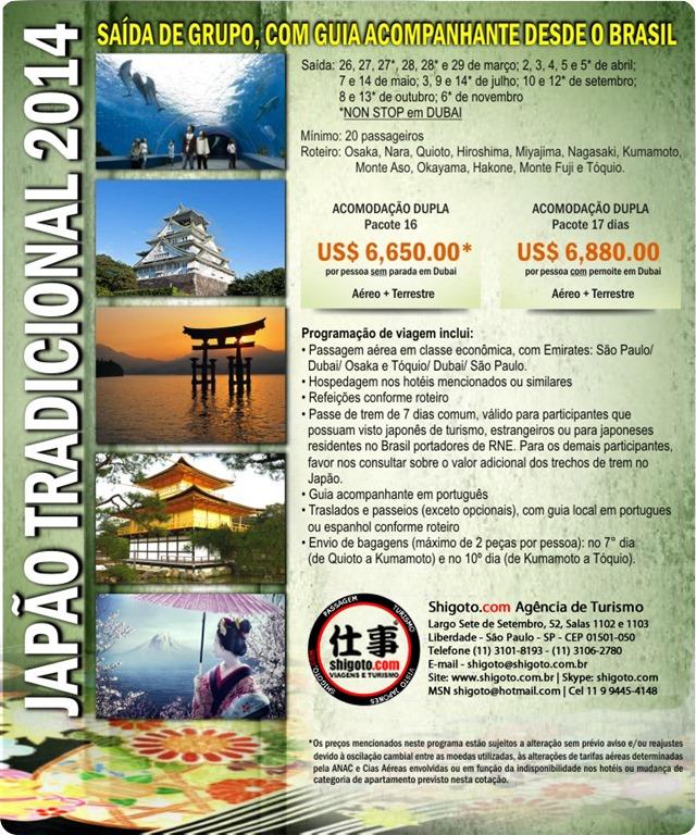 Japão Tradicional 2014