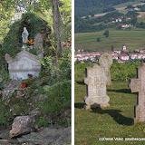 Le monument en l'honneur de la Vierge Marie sur le chemin du pélerinage