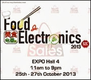 Food and Electronics 2013 Expo Event Singapore Deals Offer Shopping EverydayOnSales