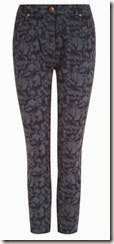 Dash Printed Stretch Cotton Trouser