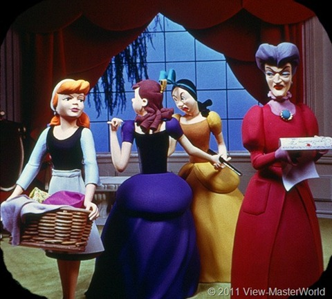 View-Master Walt Disneys Cinderella (B318), Scene 2
