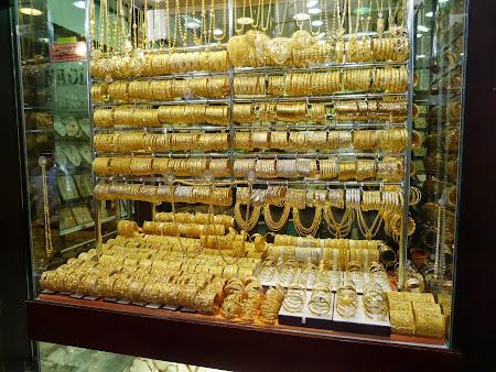 Bazarul de aur in Dubai