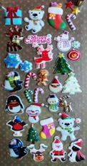 Assorted Christmas Stickers