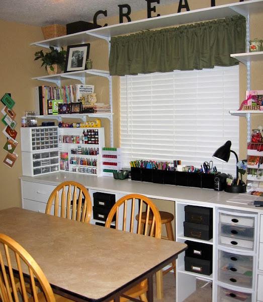 New Memories Craft Room_lg Craft Room Ideas