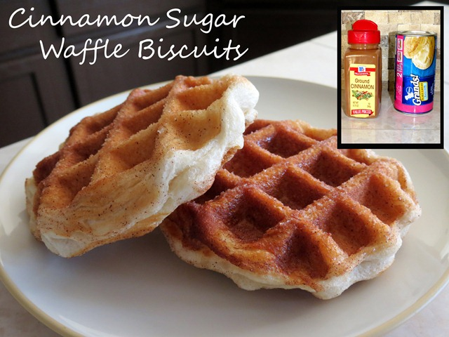 cinnamon sugar waffle biscuits fast cheap easy 3 copy